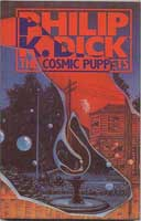 Philip K. Dick The Cosmic Puppets cover