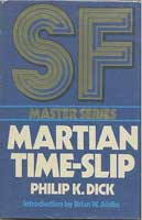 Philip K. Dick Martian Time-Slip cover