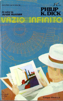 Philip K. Dick Flow my Tears the Policeman Said cover VAZIO INFINITO