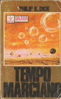 Philip K. Dick Martian Time-Slip cover TEMPO MARCIANO