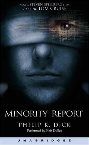 minority report book wiki
