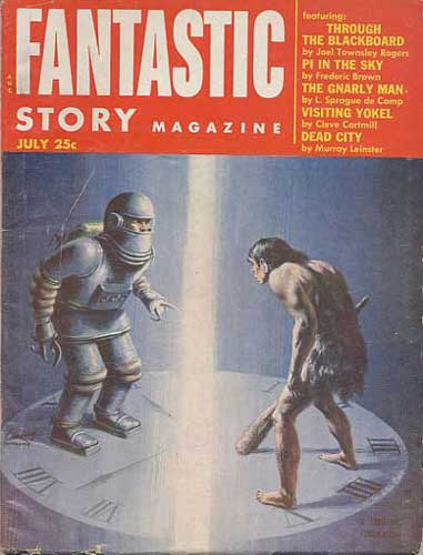 Fantastic Story Magazine 1950 Pulp Comic Books: Philip K. Dick Bibliography